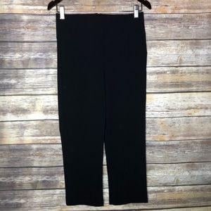 Athleta Pants - Athleta slim crop straight black career ponte pant